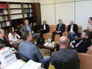OAB Brusque participa de reunião sobre aquisição de sede para Ministério Público