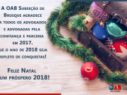 Feliz Natal e Próspero 2018