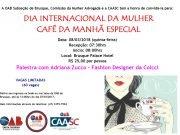 OAB Brusque realiza evento em homenagem às mulheres