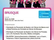 OAB Subseção de Brusque realiza evento do Outubro Rosa e Novembro Azul