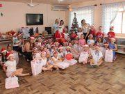 Natal Solidário da OAB Brusque contempla crianças do CEI Tia Lisa