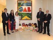 Campanha 'Volta às Aulas' doa materiais a alunos da E.E.B. Feliciano Pires