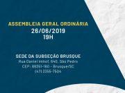 Assembleia Ordinária da OAB Brusque acontece amanhã