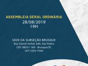 OAB Brusque realiza assembleia no dia 28 de agosto