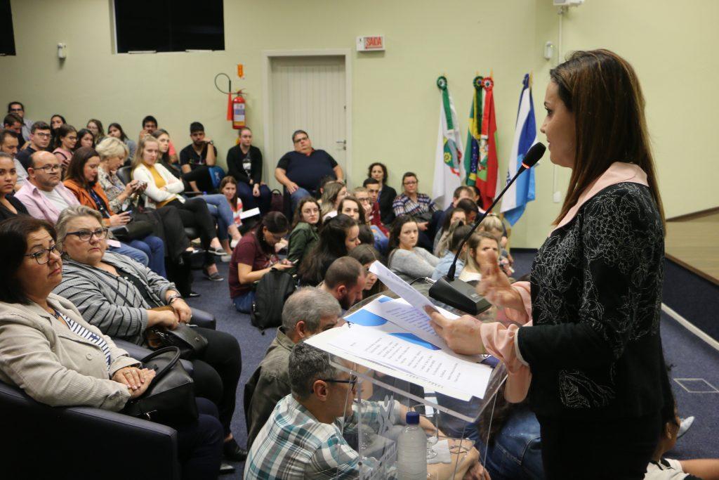 Palestra sobre Conselho Tutelar lota auditório do Bloco C da Unifebe