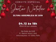 OAB Brusque convida para Assembleia e Jantar Natalino
