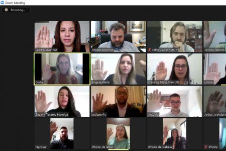 Novos advogados fazem juramento em solenidade virtual da OAB de Brusque