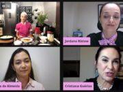 Outubro Rosa da OAB de Brusque leva informação sobre saúde através de live com profissionais