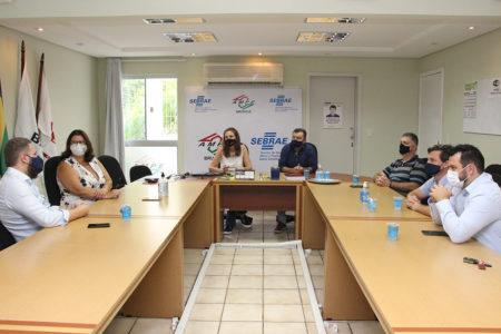 OAB de Brusque participa de reunião do Conselho das Entidades