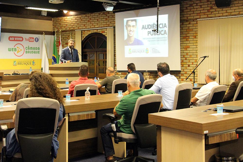 OAB de Brusque e demais entidades apoiam projeto que proíbe vereadores de ocuparem cargos no Executivo