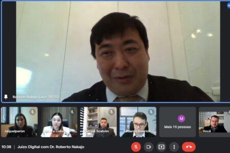 OAB de Brusque e Comissão de Direito do Trabalho promovem videoconferência sobre Juízo 100% Digital e Núcleo de Justiça 4.0