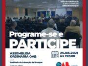 Assembleia Ordinária OAB – Agosto