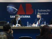 Juiz titular da Vara do Juizado Especial participa de assembleia da OAB de Brusque