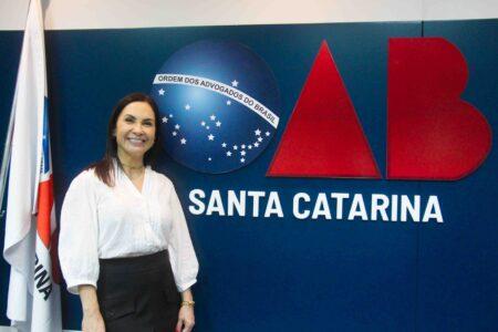 Dra. Cristiana Guérios assume presidência da OAB de Brusque neste mês de outubro